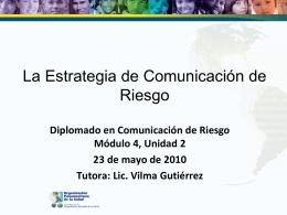 Coordinación interinstitucional, vínculos con socios y aliados