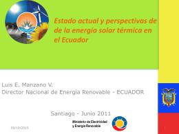 Ministerio de Electricidad y Energía Renovable