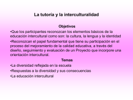 INTERCULTURALIDAD 298 KB Sep 11 2003 12:26:20 PM