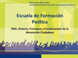 2.1 PAIS Historia y
