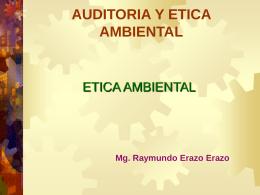 ciudadanía ambiental