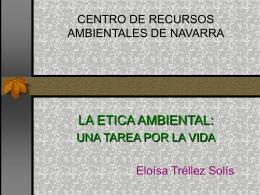 la ética ambiental (power