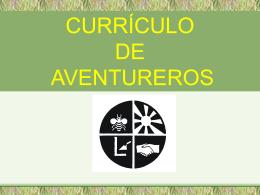 Curriculum de Aventureros