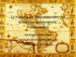 La historia de Hispanoamérica a través de su literatura