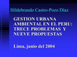 Presentación Castro Pozo