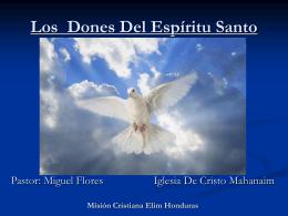 24-Los Dones del Espiritu Santo