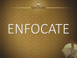 ENFOCATE - iglesiadecristotuc.org.ar