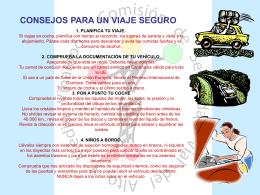 Diapositiva 1 - Comisión de Seguridad Vial del Alto y Medio Vinalopó