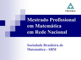 arquivo ppt - Instituto Nacional de Matemática Pura e Aplicada
