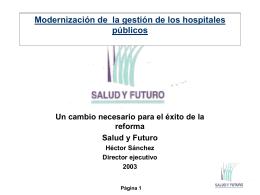 ver documento de apoyo Sr. Héctor Sánchez