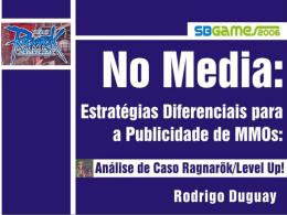 no media: estrategias diferenciais para a publicidade de mmos