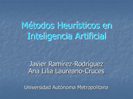 BúsquedaHeurÃstica - Universidad Autónoma Metropolitana