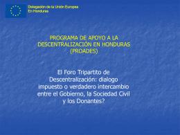 Delegación de la Unión Europea En Honduras
