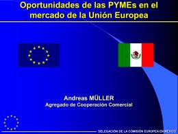 La Unión Europea y México