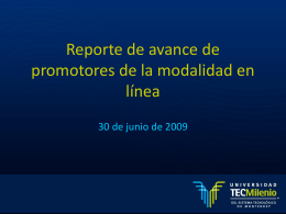 Slide 1 - Universidad TecMilenio