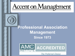 Accent on Management