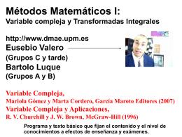 0_presentacion - Departamento de Matemática Aplicada y