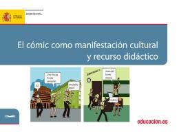 el cómic como manifestación cultural y recurso didáctico