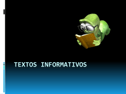 Textos Informativos - dgeti quintana roo