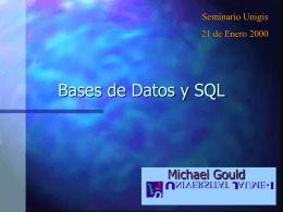 BBDatos y SQL