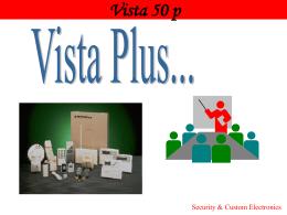 Vista Honeywell 50p