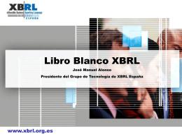 Libro Blanco - Asociación XBRL España