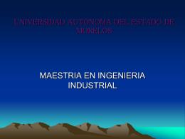 GeneXus - Universidad Autónoma del Estado de Morelos