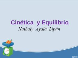 CINETICA Y EQUILIBRIO