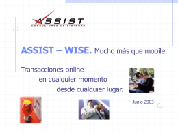 assist – wise