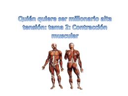 Quién quiere ser millonario alta tensión musculos (1