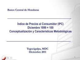 Fundamentos metodológicos del IPC
