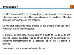 Estimación - UABCS Loreto