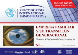 """""""Empresa Familiar y su transición generacional"""""""