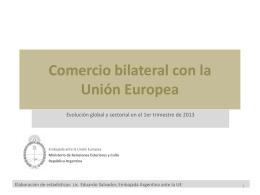 2013 - T1 - Embajada de la República Argentina en Rep ante Unión