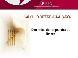 Límites algebraic. y trigo.