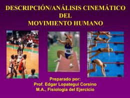 P1 PPT U3-02: Kinemática: Descripción del Movimiento