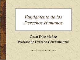 Dignidad: Fundamento de los Derechos Humanos