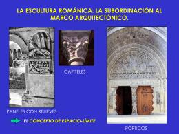 LA ESCULTURA ROMÁNICA