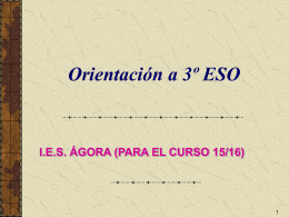 ITINERARIO HUMANIDADES Y CIENCIAS SOCIALES