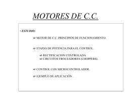 MOTORES DE C.A.