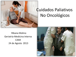 Cuidados Paliativos No Oncológicos