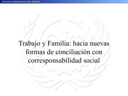 TRABAJO Y FAMILIA Maria Elena