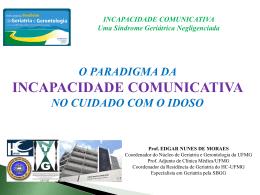 incapacidade comunicativa - Hospital das Clínicas da UFMG
