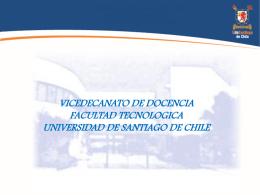 Presentación Vicedecanato de Docencia 2015