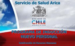 bienestar - Hospital Arica