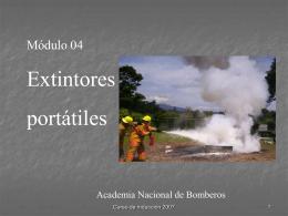 5 EXTINTORES