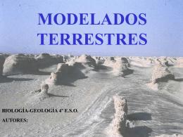 nombre del modelado - biología y geología
