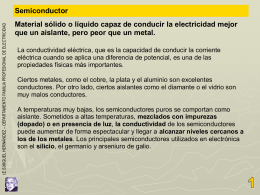 Semiconductores - IES Politécnico Cartagena
