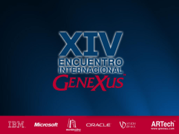 Portales - GeneXus
