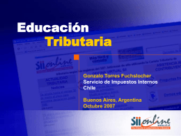 Educación tributaria en Chile
